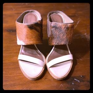 All Saints Leather Wedge